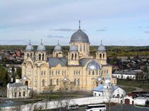 туры по Уралу - Верхотурье + Меркушино     автобусные туры >> из Екатеринбурга Крестовоздвиженский храм. Верхотурье.