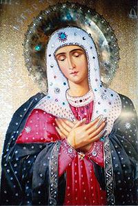 Икона Умиление Божьей Матери. Верхотурье.