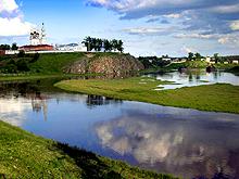 Верхотурье. Троицкий камень и кремль.