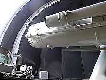 Коуровская обсерватория. Телескоп.