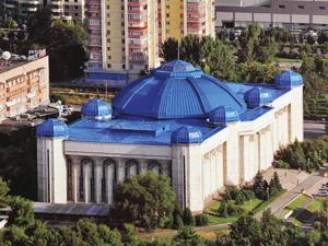 Национальный музей Республики Казахстан в Алма*-Аты.