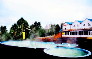Три бассейна.