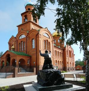 Екатеринбург По колокольням Екатеринбурга   Храм Серафима Соровского