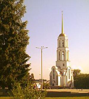 Храм в честь преподобного Сергия Радонежского и преподобномученицы Елизаветы