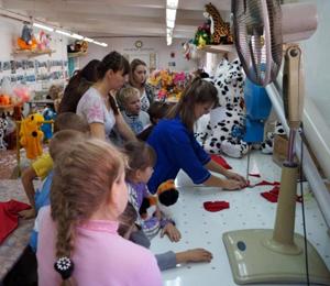 Экскурсия на фабрику мягкой игрушки.