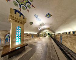 Метро Казани.Станция Кремлевская.