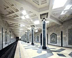 Метро Казани. Станция пл. Тукая.