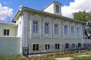 Село Покровское. Дом музей Распутина.