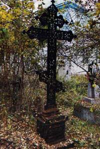 Осмотр старообрядческого храма и кладбища.