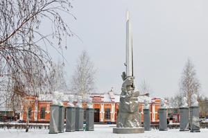 """Ялуторовск """"Город Декабристов"""" памятник декабристам."""