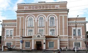 Здание Ирбитского Пассажа - символ города и старой Ирбитской ярмарки.