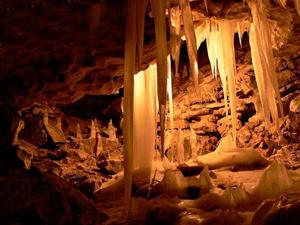 Кунгурская пещера.