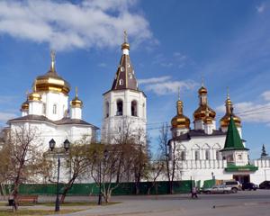 Свято-Троицкий мужской монастырь. г. Тюмень