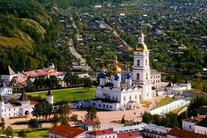 тур в Тобольск > горячий источник Тюмень > автобусные туры >  из Екатеринбурга - Тобольский Кремль.