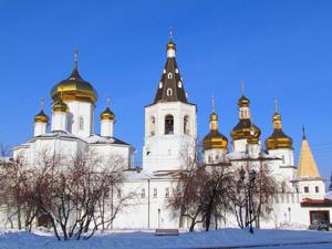 Свято-Троицкий мужской монастырь. Тюмень