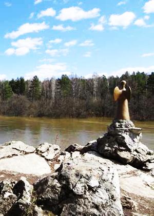 Оленьи ручьи. Река Серьга.