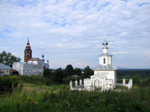 туры по Уралу - Чердынь > Соликамск - Усолье    автобусные туры > из Екатеринбурга - Чердынь.
