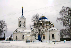 Верхнетагильская Знаменская церковь.